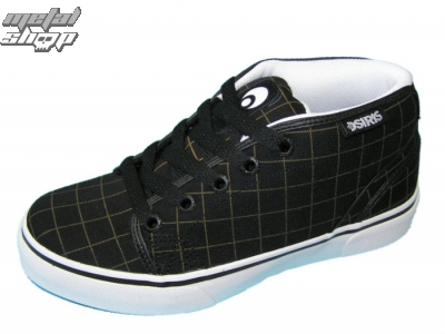 boty OSIRIS - KEEFER - BLACK/PLAID/WHITE