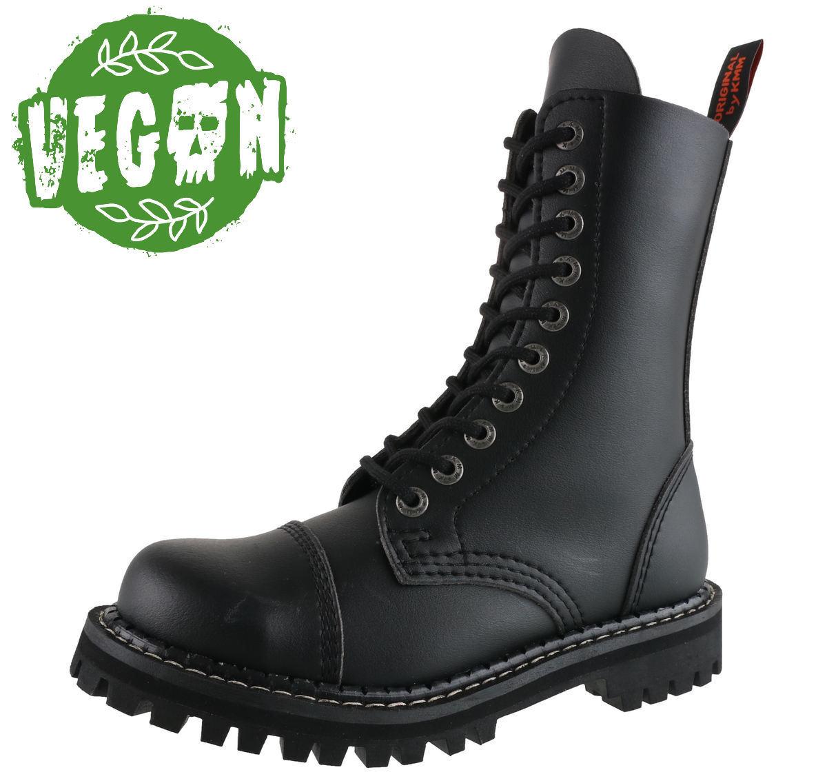 boty KMM 10dírkové - Vegan - Black - 100 - metalshop.cz ca9857d150