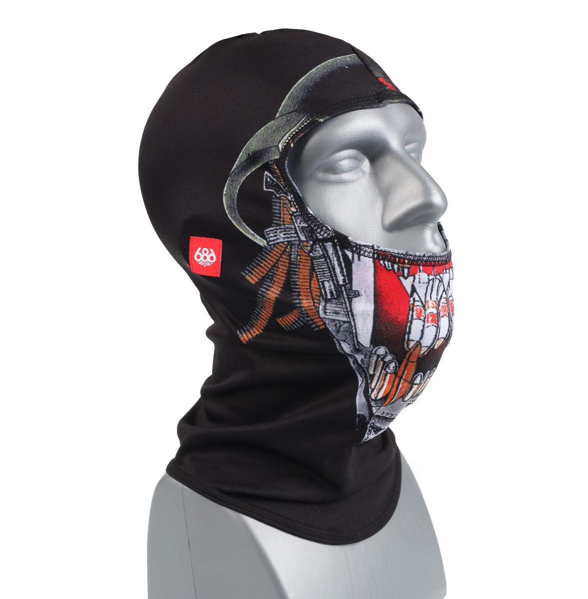 kukla Slayer - Granite Balaclava - Black - 686 - L9WFMSK04