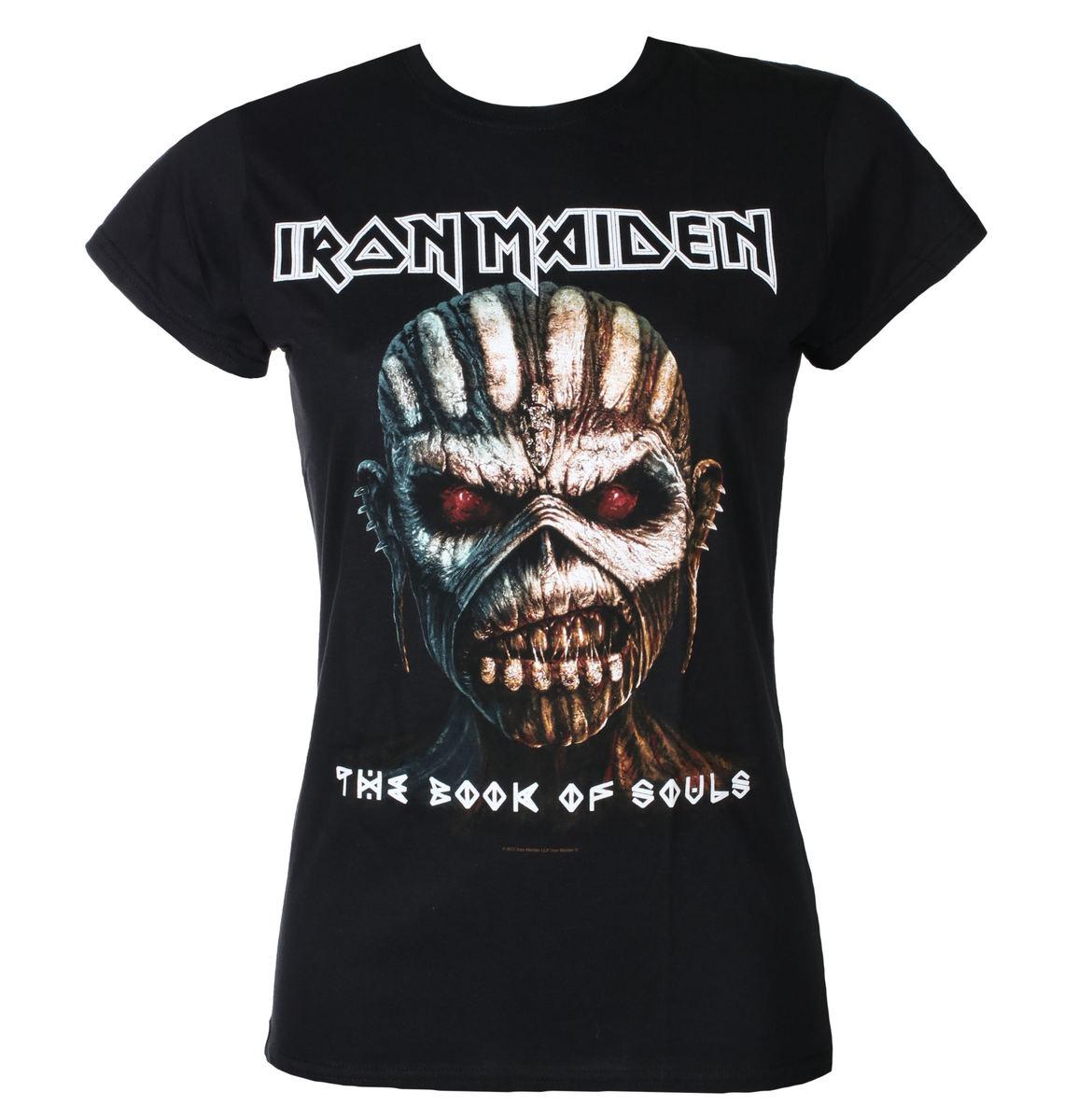 Triďż˝ko metal dďż˝mskďż˝ Iron Maiden - Book Of Souls - ROCK OFF - IMTEE44LB