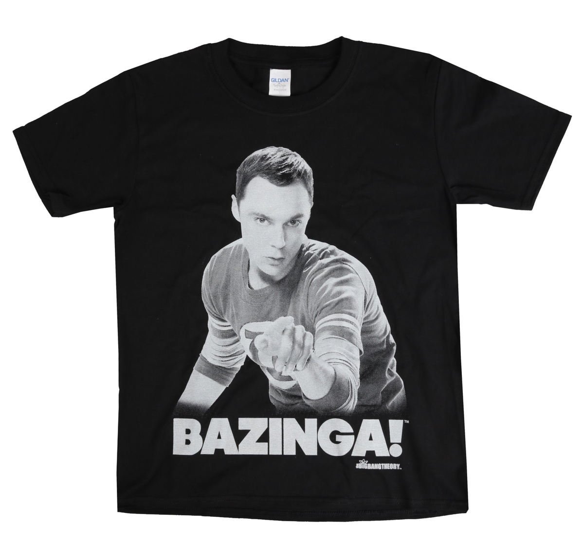 HYBRIS The Big Bang Theory Sheldon Says BAZINGA! černá