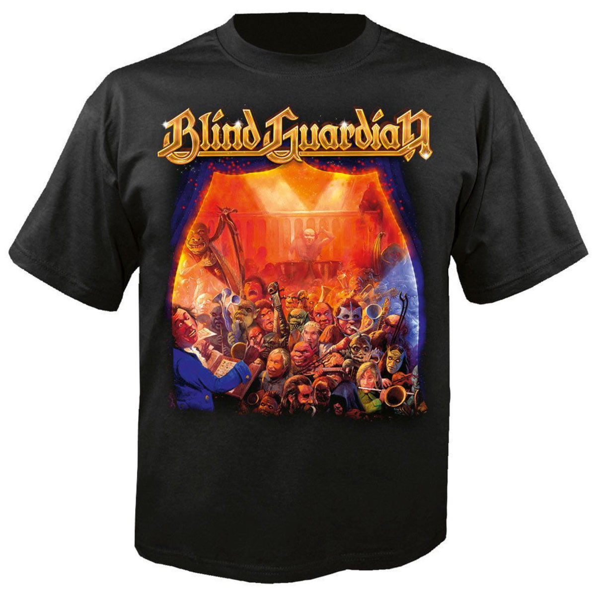 NUCLEAR BLAST Blind Guardian A night at the opera černá