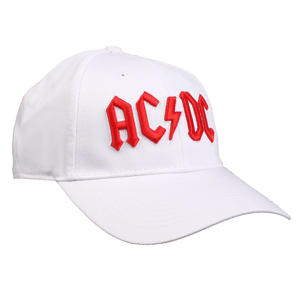 kšiltovka ACDC - Red Logo White - ROCK OFF - ACDCCAP02W