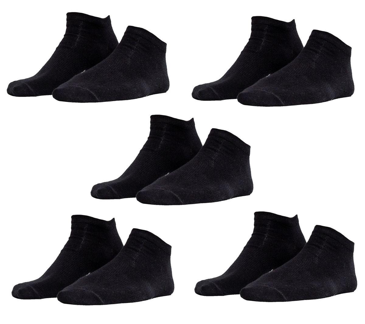 fc670d4466e2b ponožky (set 5 párů) URBAN CLASSICS - Logo No Show - TB2157-black ...