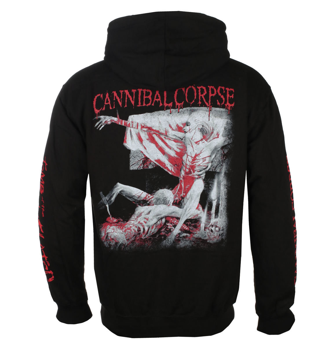 mikina s kapucí pánské Cannibal Corpse - TOMB OF THE MUTILATED - PLASTIC HEAD - PH11723HSWZ