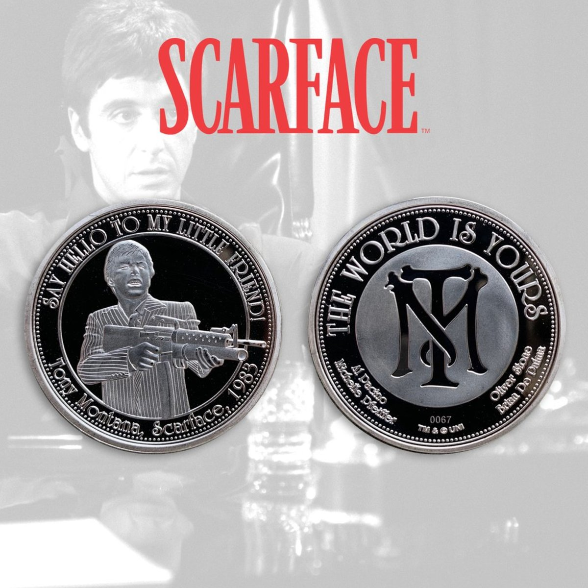 mince Scarface - The World Is Yours - FNTK-SC-01