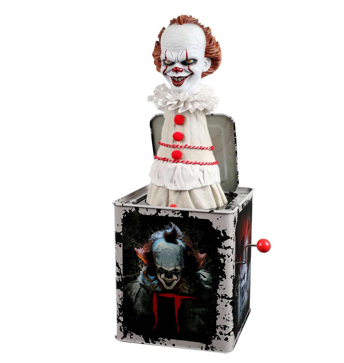 figurka (dekorace) TO - Stephen King - 2017 Burst-A-Box Music Box Pennywise - MEZ43022
