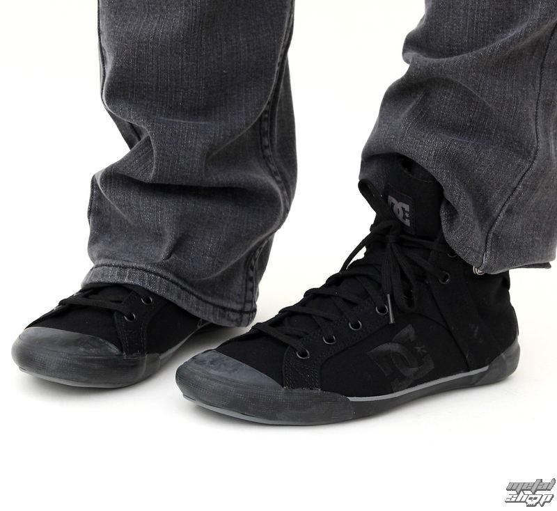 boty dámské zimní DC - Chelsea Z Hle - BLACK-BLACK