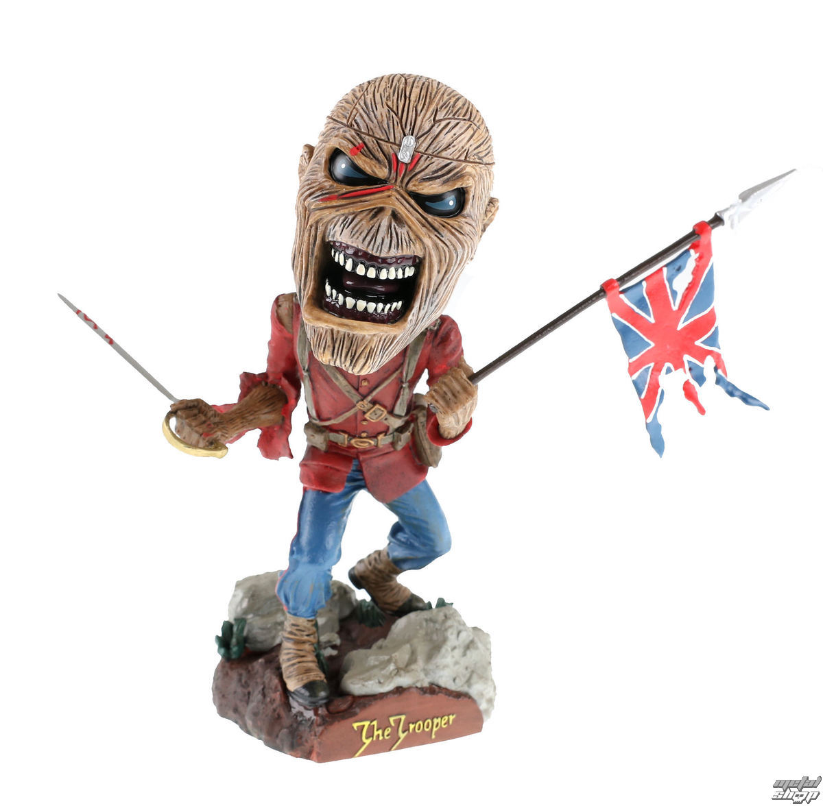 figurka Iron Maiden Trooper - Head Knocker - 302-33716