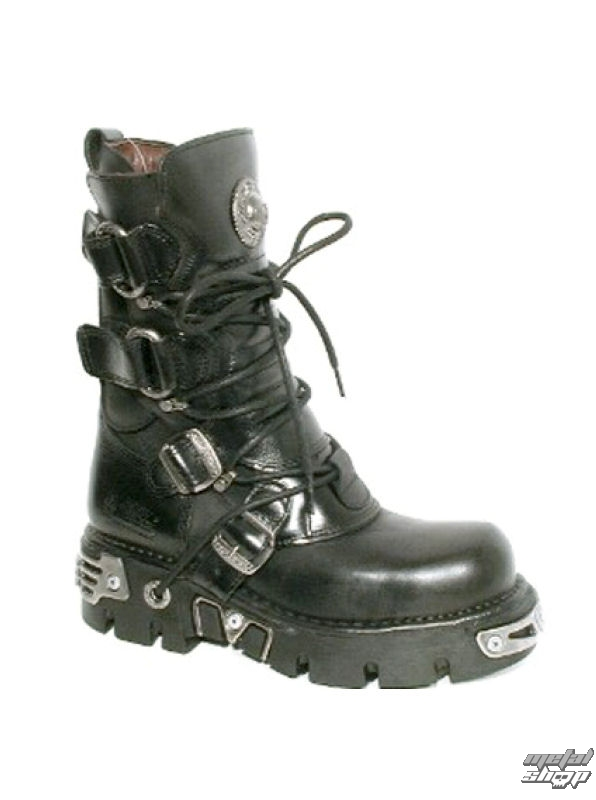 boty NEW ROCK - Ring Boots (575-S1) Black