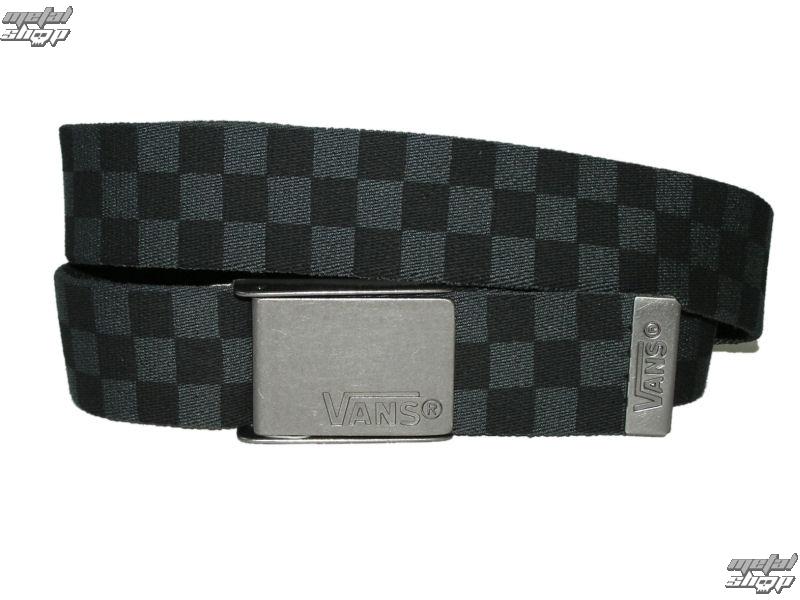 pásek plátěný VANS - Deppster - Black/Charcoal - V6D8BA5