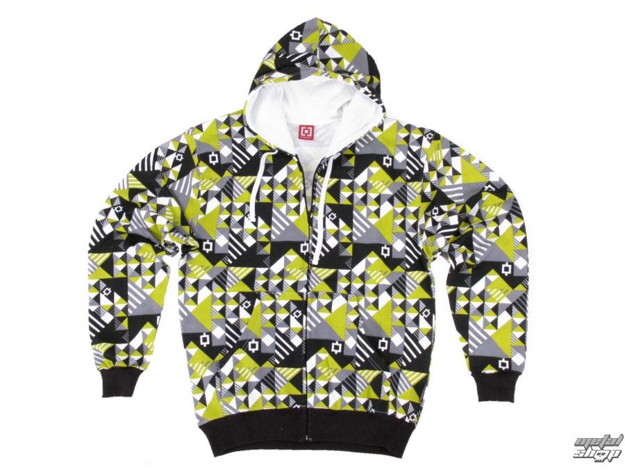 mikina dětská HORSEFEATHERS - Blanket - Green urban