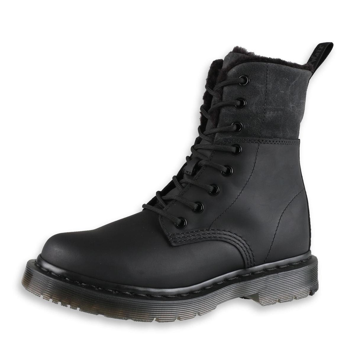 boty dámské zimní DR. MARTENS - 8-dírkové - 1460 Kolbert - black ... d88553e572