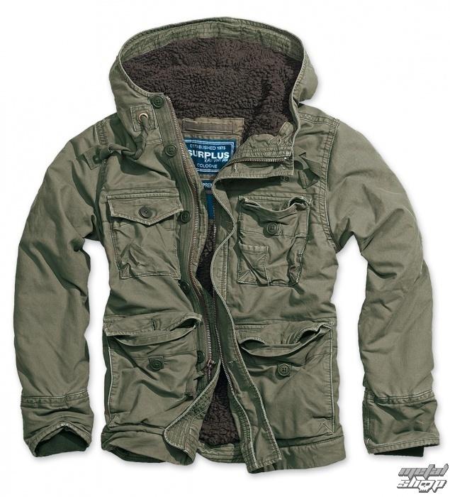 bunda pánská zimní SURPLUS - Vintage Supreme Jacket - OLIV - 20-2401-61
