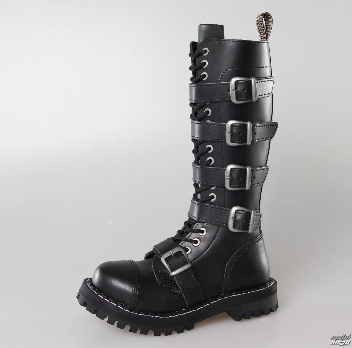 boty STEEL - 20 dírkové 139/140 BLACK 5P