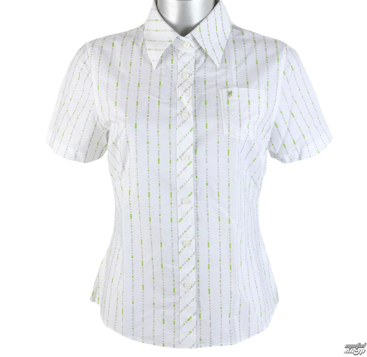 košile dámská HORSEFEATHERS - Bead - White