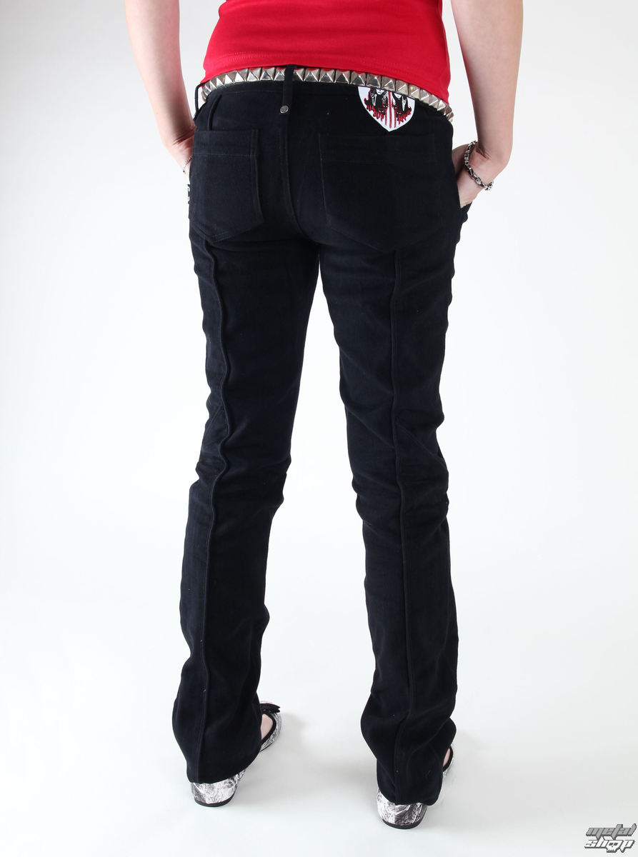 kalhoty dámské EMILY THE STRANGE - Emily (E4080902) - Emily the Strange jeans