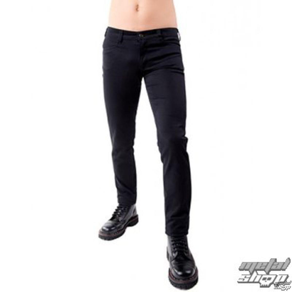 kalhoty pánské Black Pistol - Close Pants Denim Black - B-1-50-001-00