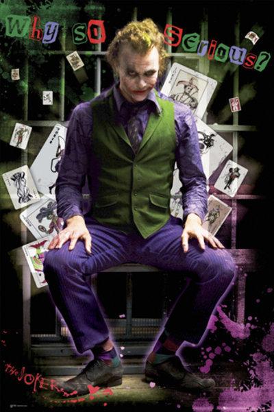 plakát - Batman (Dark Knight) - Joker Jail - FP2100 - GB posters