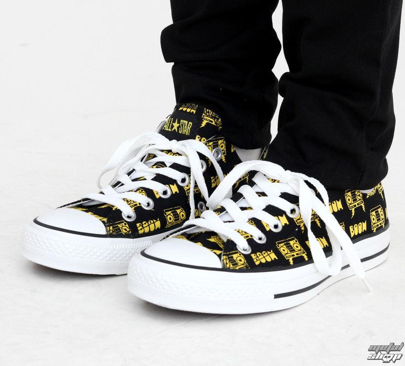 boty CONVERSE - CT Punk OX - Black/Yellow - 108758