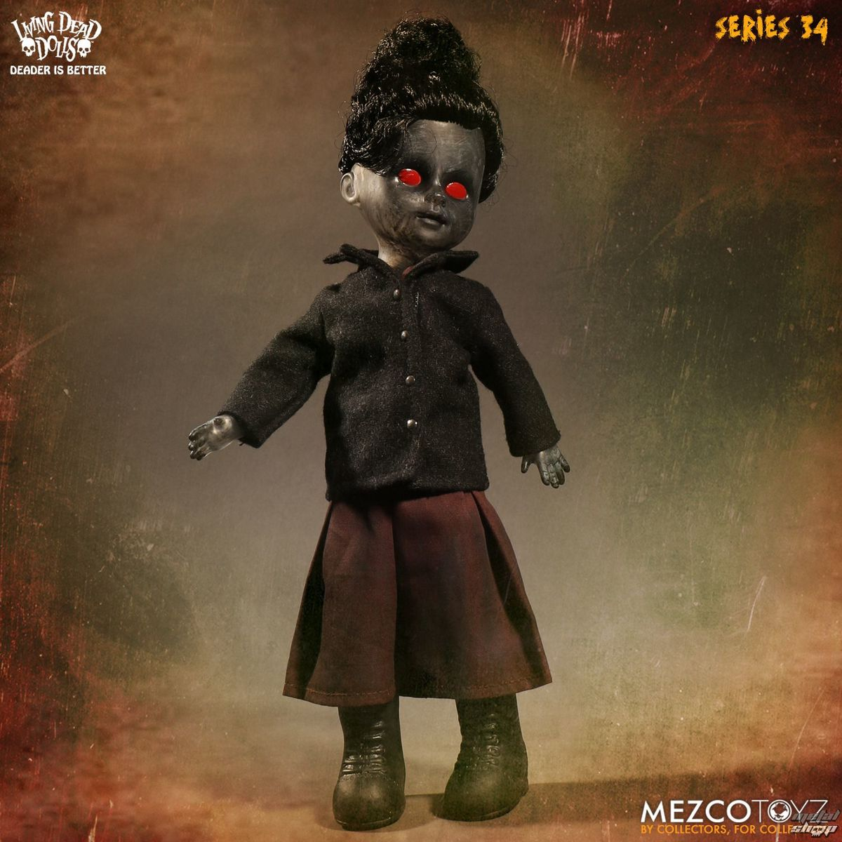 panenka Living Dead Dolls - The Time Has Come To Tell The Tale - Soot - MEZ93415-3