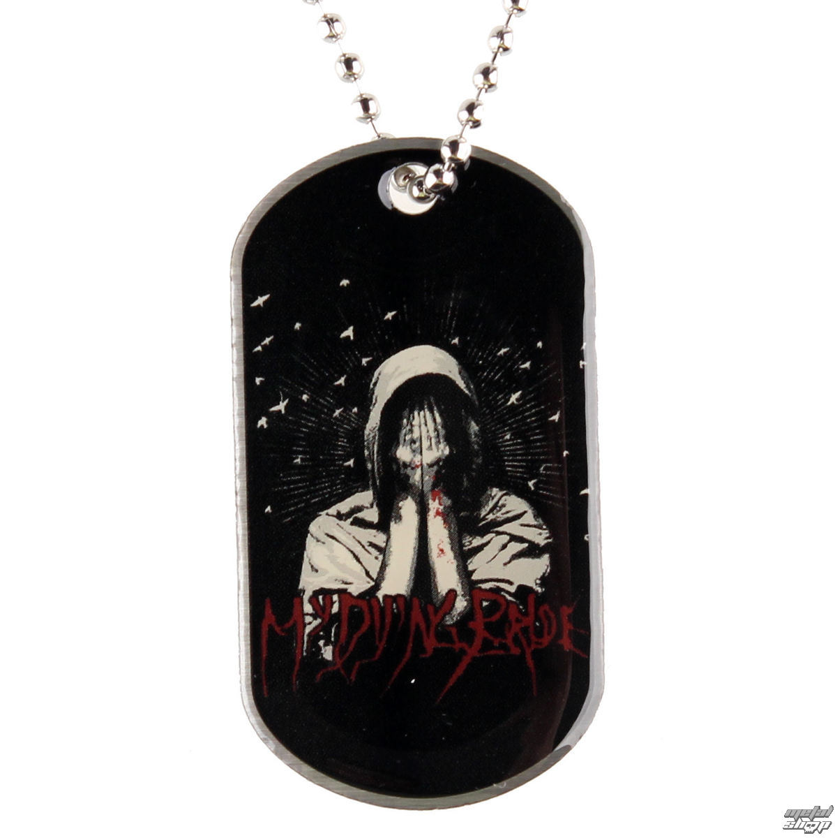 """obojek """"psí známka"""" My Dying Bride - My Body A Funeral - RAZAMATAZ - DT011"""