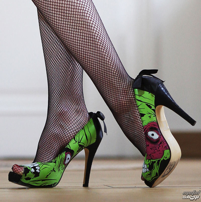 boty dámské (střevíce) IRON FIST - Zombie Stomper Platform IFLPLH00402S12 - GREEN
