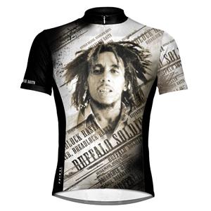 "dres cyklistický PRIMAL WEAR - Bob Marley ""Dreadlock Rasta""- BMDRJ10M"