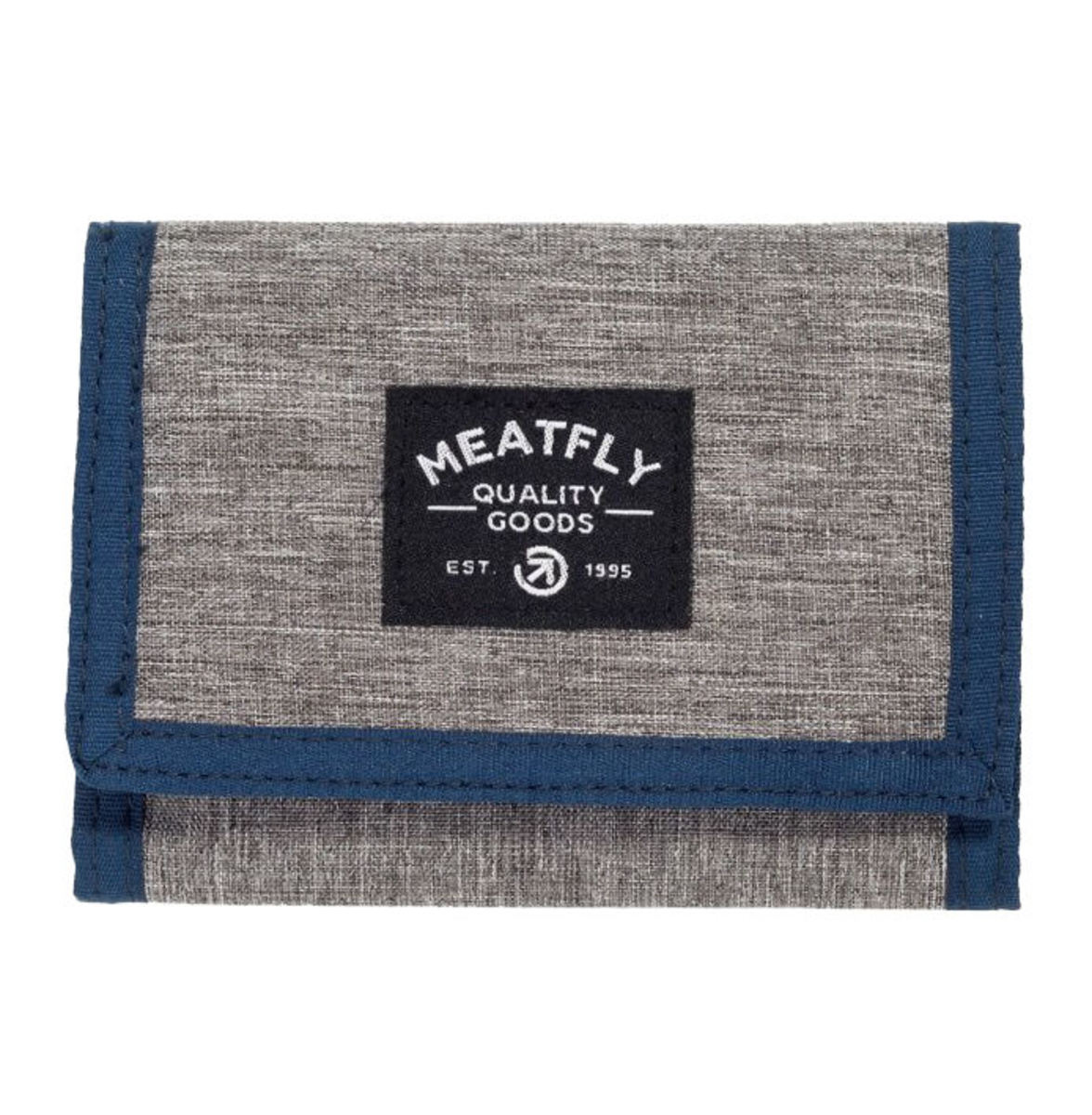 peněženka MEATFLY - LANCE - E - 12655 - Heather Grey Blue Black - MEAT205