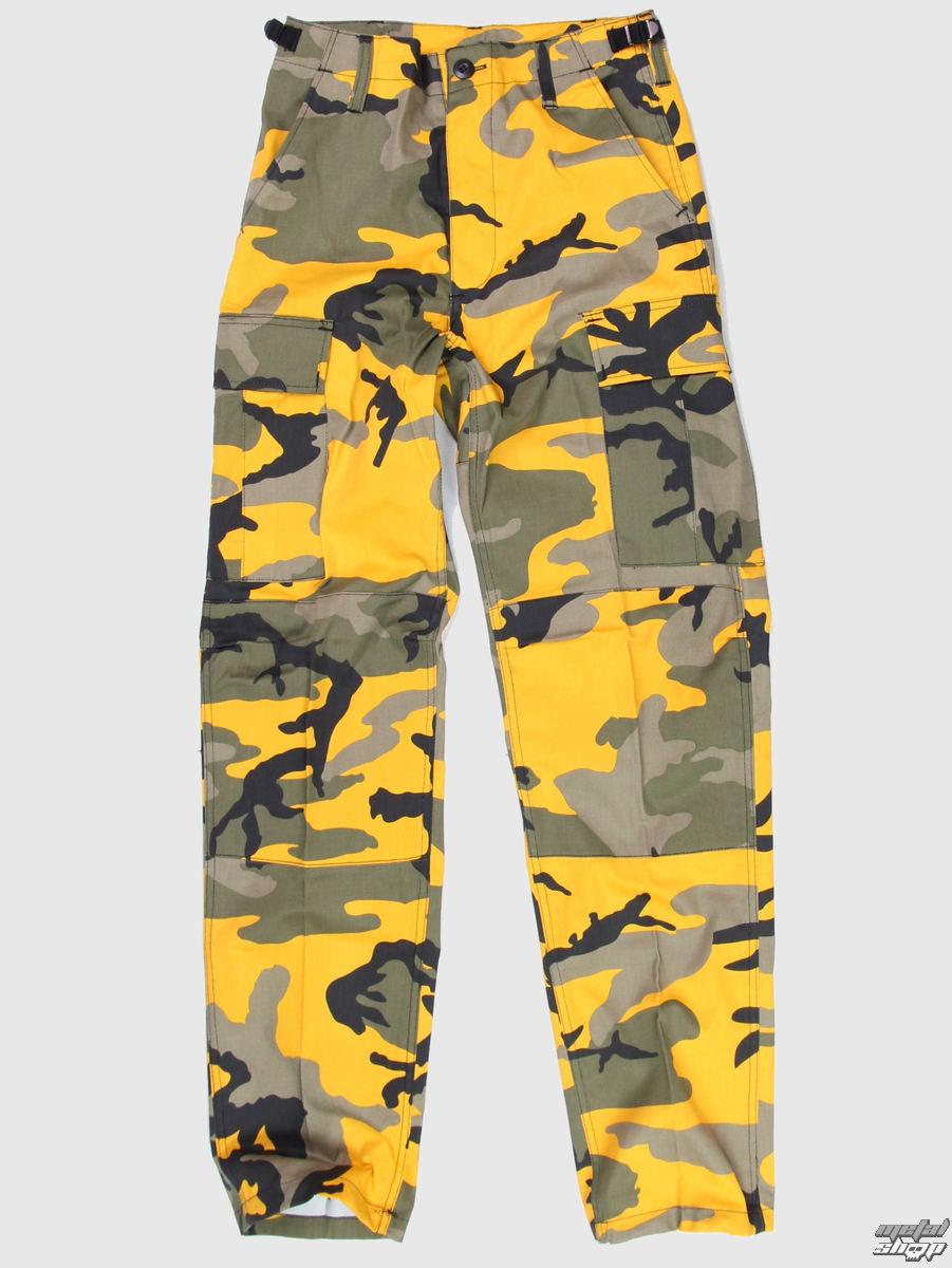 kalhoty pánské US BDU - Army - YELLOW GREEN CAMO - 200500 - MANNL