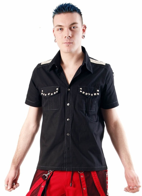 košile pánská DEAD THREADS (GS9002)
