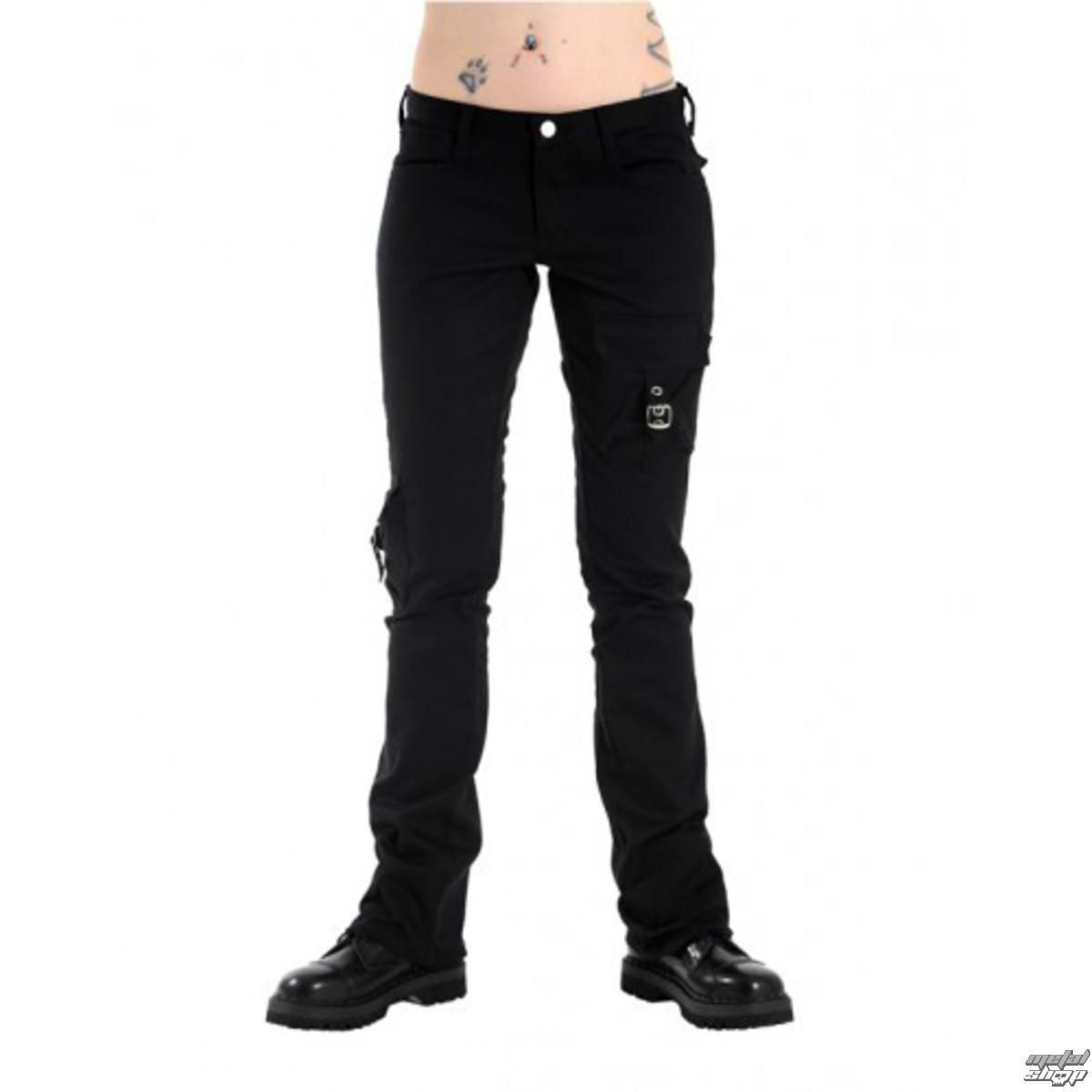 kalhoty dámské Black Pistol - Pocket Hipster Denim Black - B-1-57-001-00