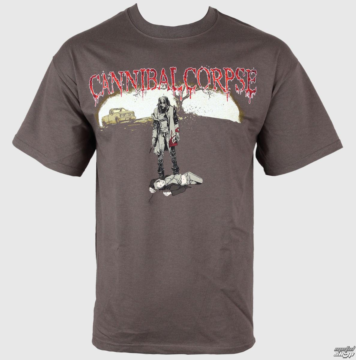 "tričko pánské CANNIBAL CORPSE ""TO DECOMPOSE…"" - 5521 PLASTIC HEAD"