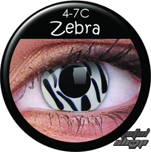 kontaktní čočka ZEBRA 600 - ROCK DADDY