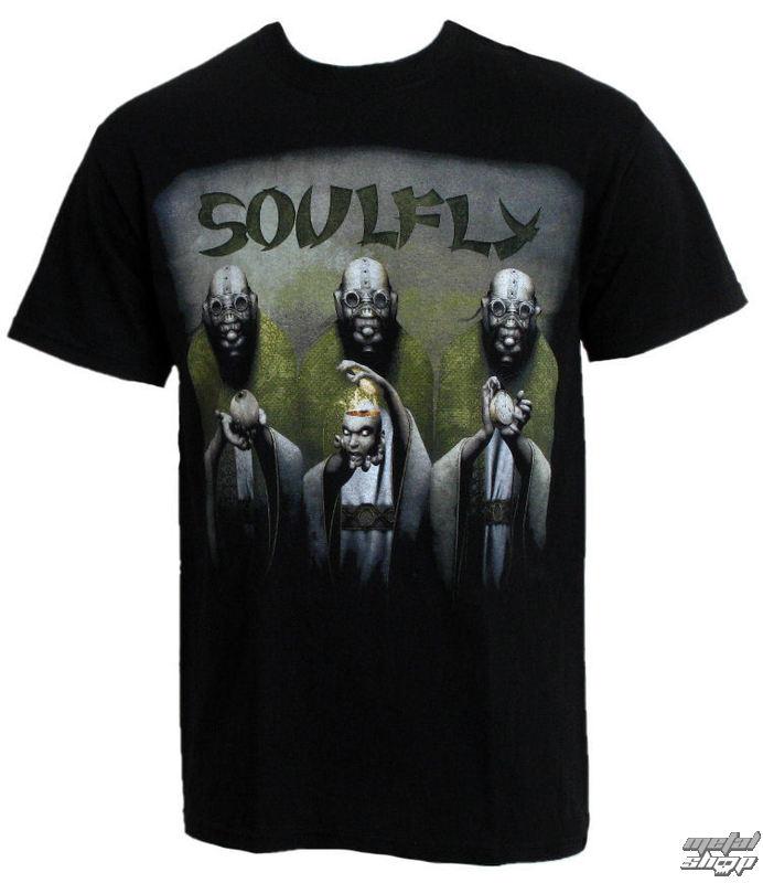 """tričko pánské RAZAMATAZ Soulfly """"Envy/Wrath/Sloth EUROPE 2010"""" - ST1470"""