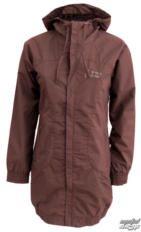bunda -kabátek- dámská jarně-podzimní FUNSTORM - Lane - 04 BROWN