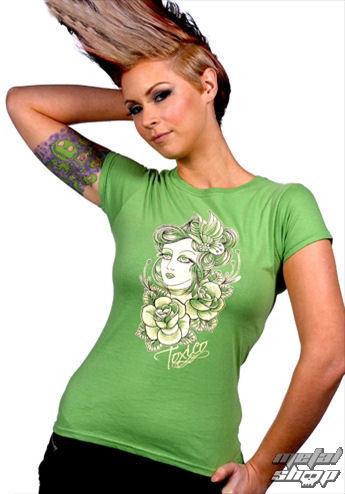 tričko dámské Toxico - GT Lady 2 - Green - GT148