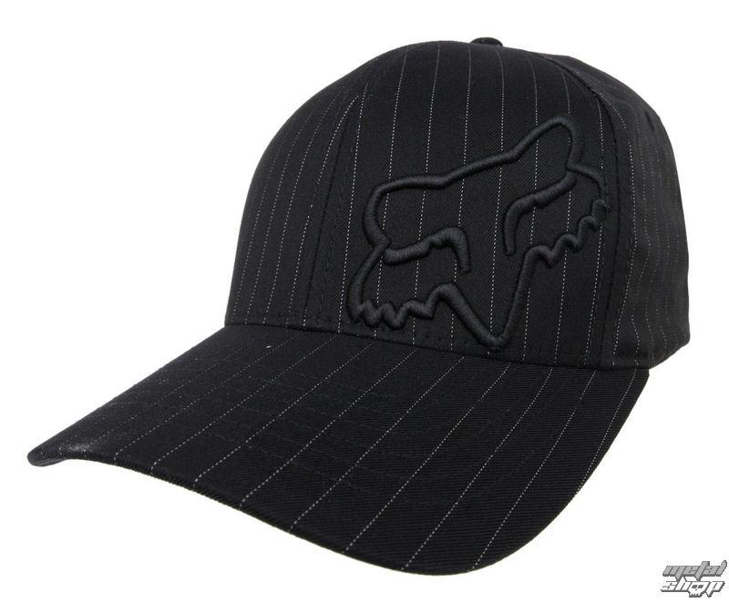 kšiltovka FOX - Flex 45 - BLACK PINSTRIPE - 58379-515