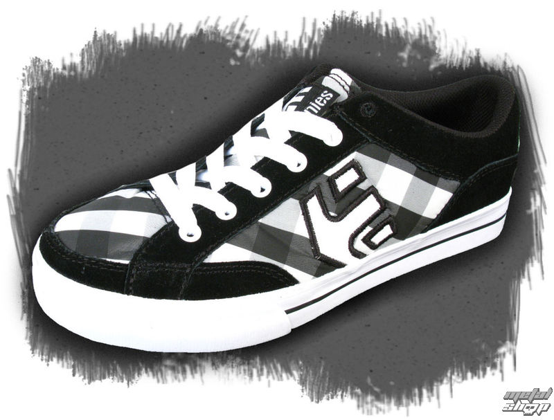 boty dámské ETNIES - Izzy - BLACK-GREY-BLACK