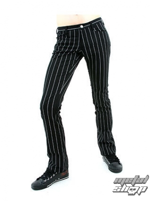 kalhoty dámské Mode Wichtig - New Hipster Pin Stripe - M-1-04-050-01