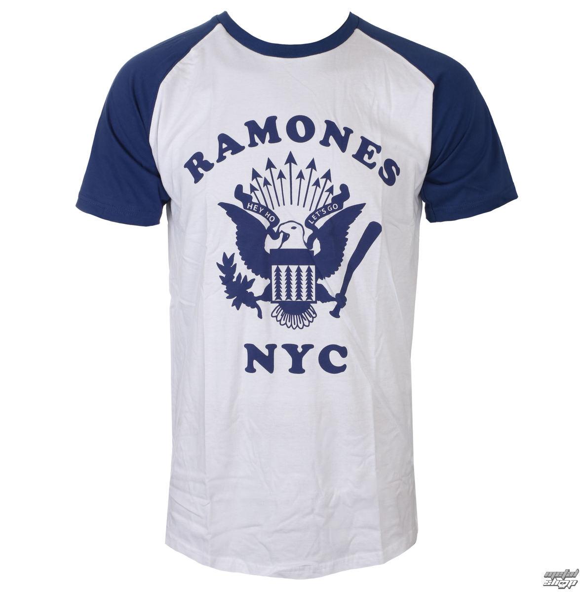 02dbe66f40e9 tričko pánské Ramones - Retro Eagle - ROCK OFF - RARAG04MN ...