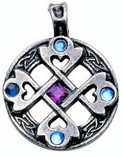 přívěšek Celtic Cross Heart - EASTGATE RESOURCE - MA01