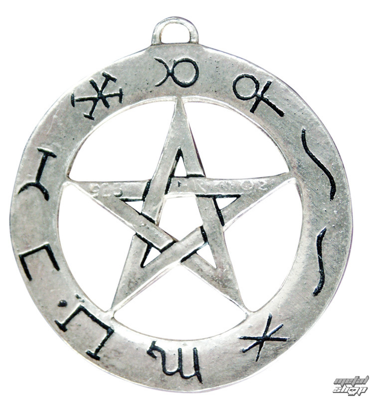přívěšek Planetary Pentagram - EASTGATE RESOURCE - SC13 AG925