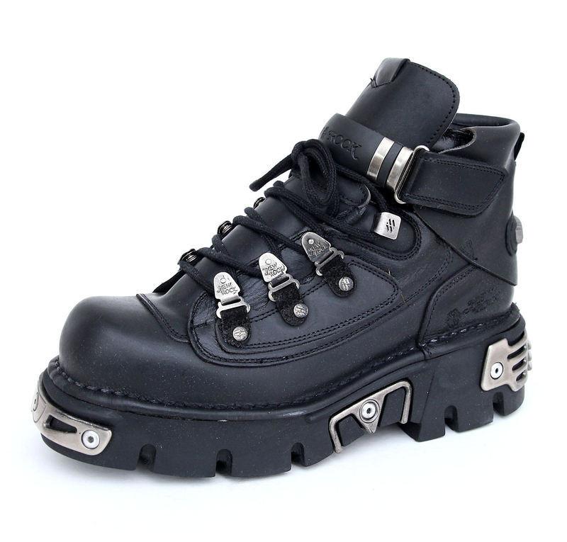 84f939b3aa2 boty NEW ROCK - 654-S1 - Itali Negro - metalshop.cz