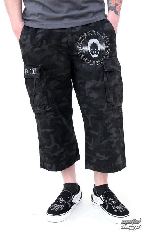 kraťasy pánské Meshuggah - Black Camouflage - NUCLEAR BLAST - 17627