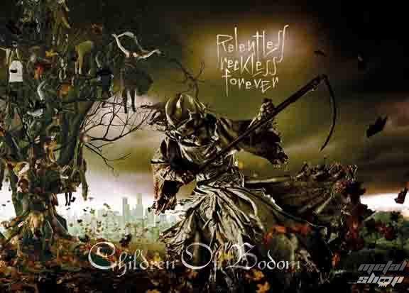 vlajka Children Of Bodom - Relentless - HFL1048