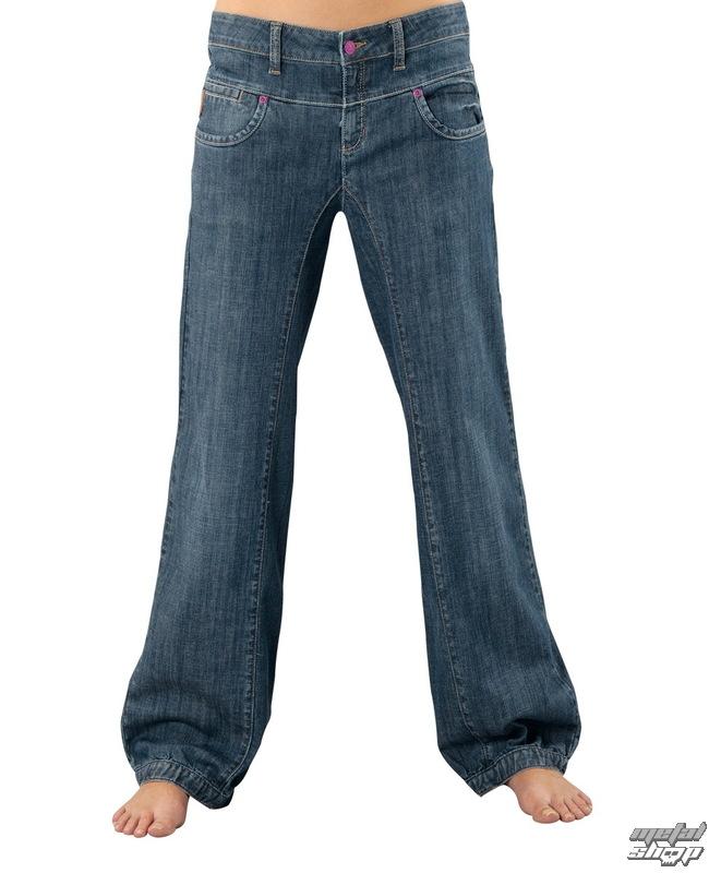 kalhoty dámské -jeansy- HORSEFEATHERS - Navigator