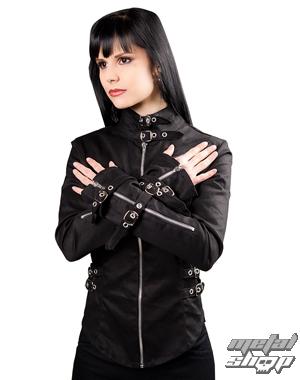 košile dámská Black Pistol - Buckle Blouse Denim Black - B-4-69-001-00