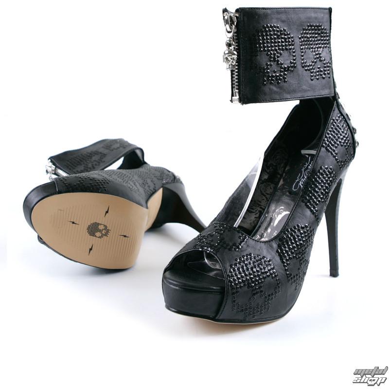boty dámské-střevíce IRON FIST - Digi Rider Platform - Black - IFL0968