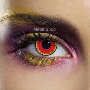 set kontaktní čočka RED VAMPIRE a desinfekční sada - EDIT - 80030